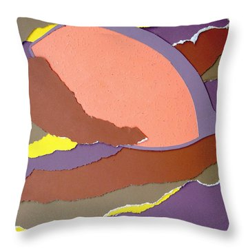 Lemon Twist Throw Pillow