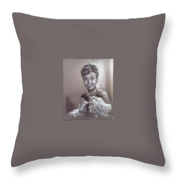Lena Horne Throw Pillow