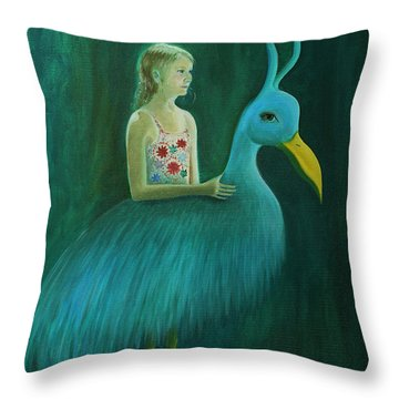 Lend Me Your Strength Throw Pillow