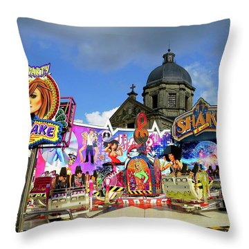 Lenten Carnival Throw Pillow
