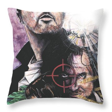 Leon The Professional Throw Pillow