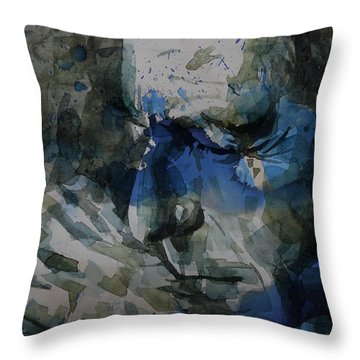 Leonard Cohen - It Goes Like This The Fourth The Fifth Throw Pillow
