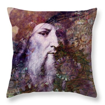 Leonardo Throw Pillow