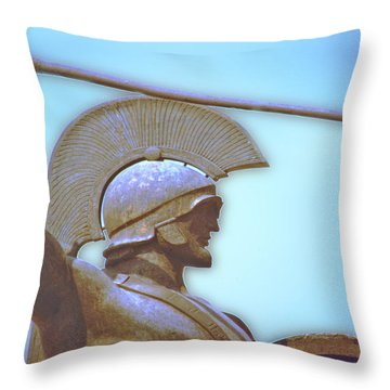 Leonidas At Thermopylae Ver 3 Throw Pillow