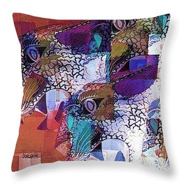 Leopards Throw Pillow