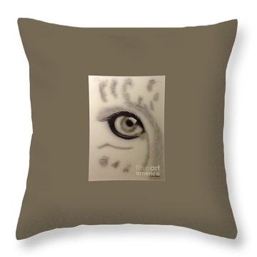 Leopard's Eye Throw Pillow