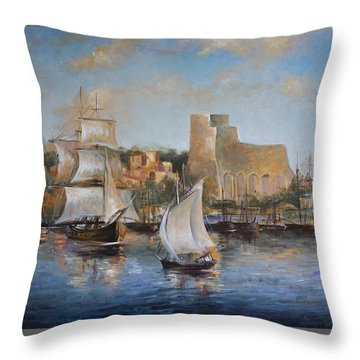 Lerici Throw Pillow