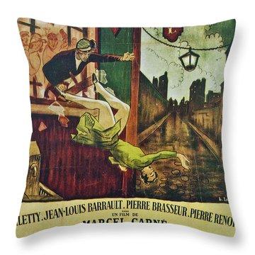Les Enfants Du Paradis Throw Pillow by Georgia Fowler