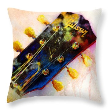 Guitar Throw Pillows