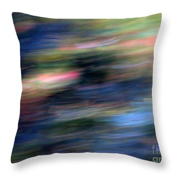 Throw Pillow featuring the photograph Les Nuits by Steven Huszar