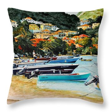 Les Saintes, French West Indies Throw Pillow
