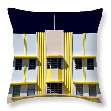 Leslie Hotel Throw Pillow