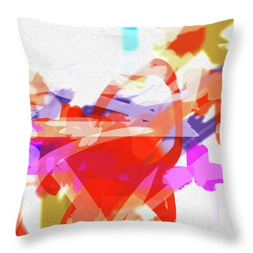 Less Form Throw Pillow
