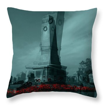 Lest We Forget. Throw Pillow