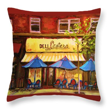 The Main Montreal Throw Pillows