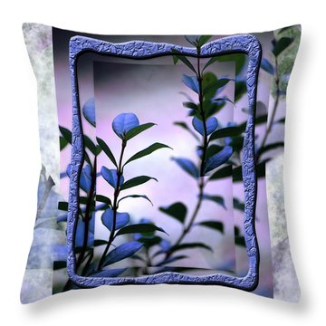 Let Free The Pain Throw Pillow by Vicki Ferrari