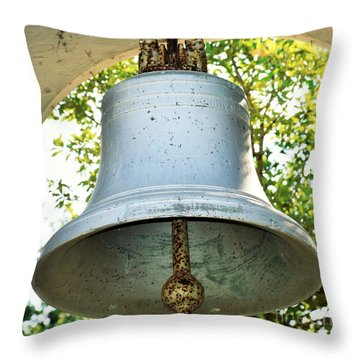 Throw Pillow featuring the photograph Let Freedom Ring ...  by Ray Shrewsberry