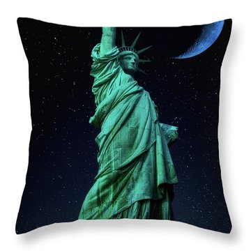 Throw Pillow featuring the photograph Let Freedom Ring by Darren White