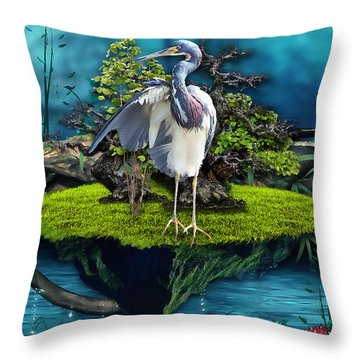 Let Hope Rise Throw Pillow
