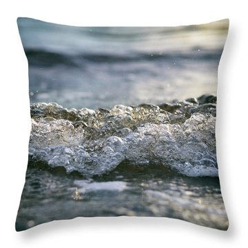 Throw Pillow featuring the photograph Let It Come To You by Laura Fasulo
