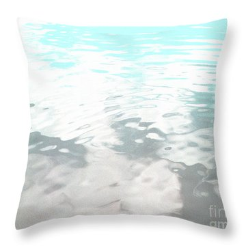 Throw Pillow featuring the photograph Let It Flow by Rebecca Harman