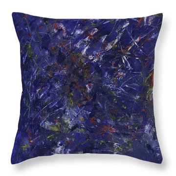 Let It Go - Panel 1 Of Triptych Throw Pillow