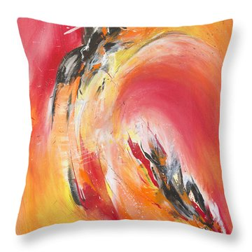 Let It Happen Throw Pillow by Glory Wood