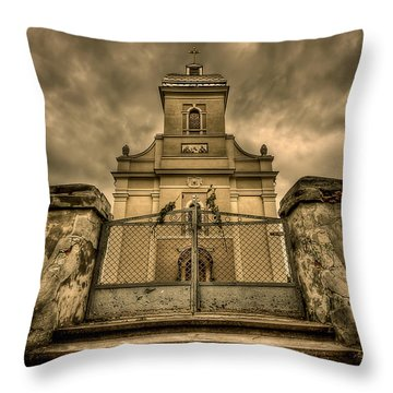 Let Love In Throw Pillow by Evelina Kremsdorf