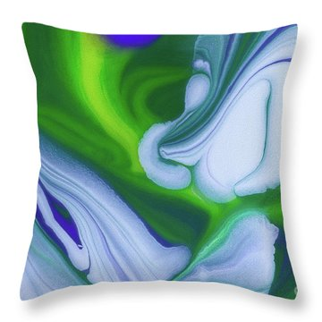 Let Me Be Throw Pillow