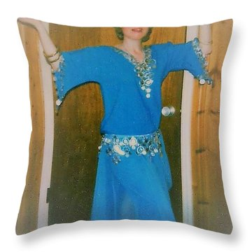 Throw Pillow featuring the photograph Let Me Entertain You by Denise Fulmer