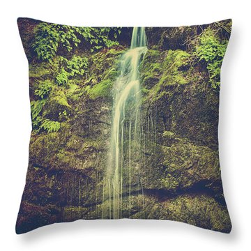Let Me Live Again Throw Pillow