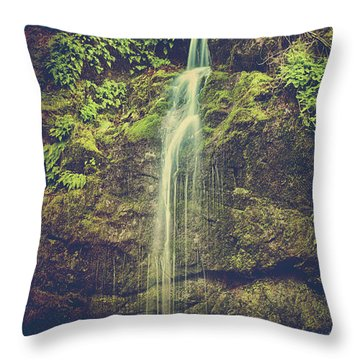 Throw Pillow featuring the photograph Let Me Live Again by Laurie Search