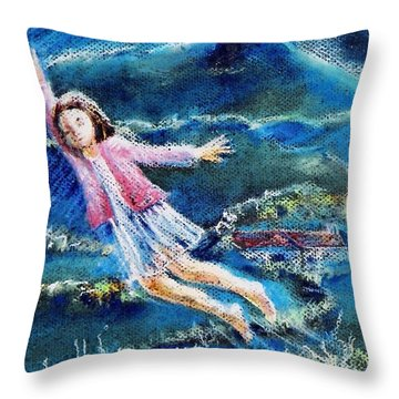 Let Me Play Among The Stars  Throw Pillow
