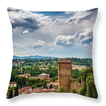 Let Me Travel To Another Era Throw Pillow