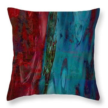 Let Somebody Else Rest By Southern Sea Throw Pillow by Danica Radman