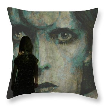 Let The Children Lose It Let The Children Use It Let All The Children Boogie Throw Pillow by Paul Lovering