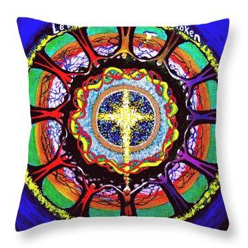 Let The Circle Be Unbroken Throw Pillow