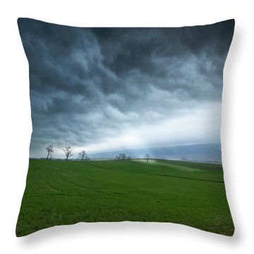 Let The Light In Throw Pillow