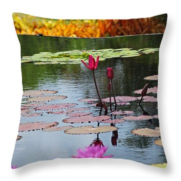 Throw Pillow featuring the photograph Let The Music Lift You by Michiale Schneider