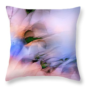 Let The Winds Of The Heavens Dance Throw Pillow by Theresa Tahara