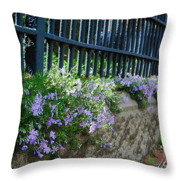 Let Us Out Throw Pillow