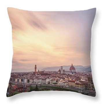 Let Your Glory Shine Throw Pillow