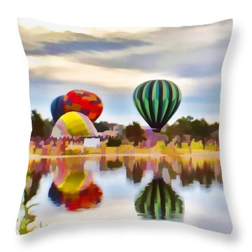 Let Your Heart Soar Throw Pillow