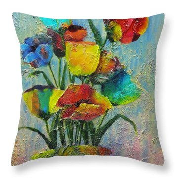 Let Your Individualism Stand Out Throw Pillow by Terry Honstead