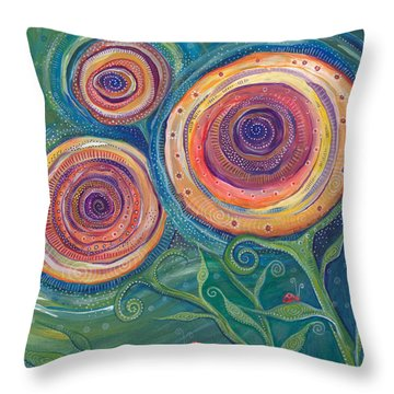 Be The Light Throw Pillow by Tanielle Childers