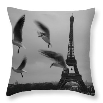 Throw Pillow featuring the photograph Let Your Spirit Fly  by Danica Radman