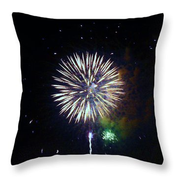 Throw Pillow featuring the photograph Lets Celebrate by Shana Rowe Jackson
