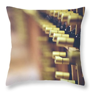 Throw Pillow featuring the photograph Let's Crack One Open by Trish Mistric