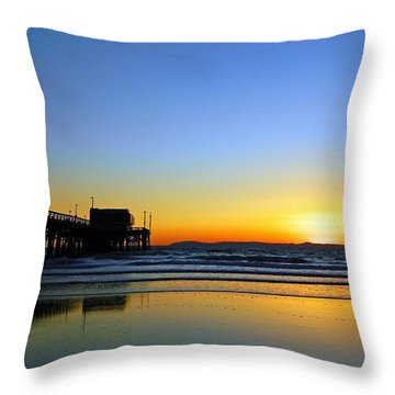 Lets Enjoy Throw Pillow by Everette McMahan jr