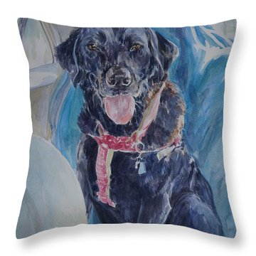 Let's Go For A Ride Throw Pillow